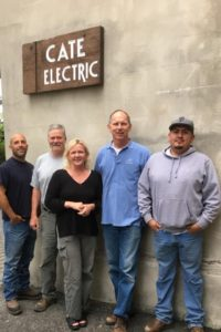 Cate Electrical Staff
